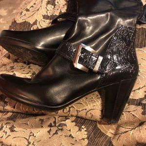 Franco Sarto Black Tall boot